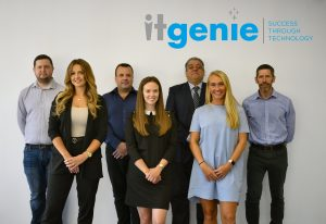 IT Genie New Recruits - photoshopped image for social distancing considerations